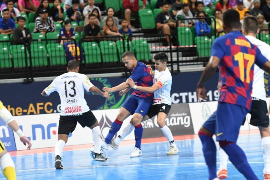 Futsal do Corinthians fará amistoso solidário contra o Barcelona