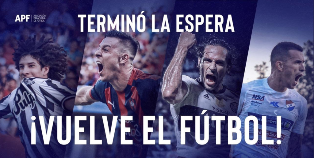 Campeonato Paraguaio será o primeiro sul-americano a retomar jogos oficiais