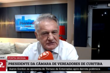 Com medo de pressão popular, Câmara de Curitiba congela salários de vereadores