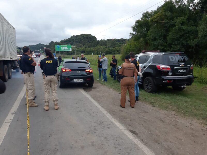 Identificadas as vítimas do duplo homicídio na BR-277, em Curitiba