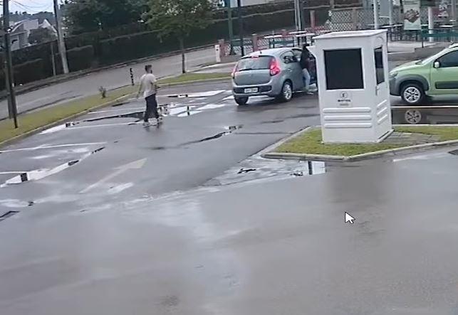 Homem é baleado de raspão na cabeça durante assalto no Jardim das Américas, em Curitiba