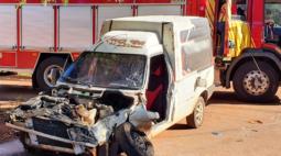 Vídeo mostra grave acidente em Paiçandu, no noroeste do Paraná