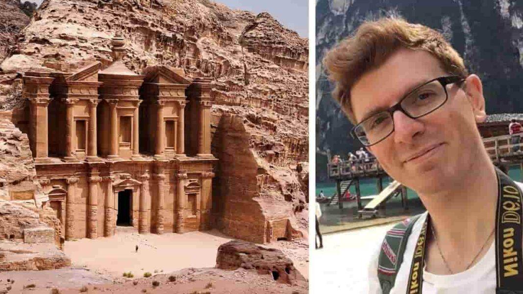 Pedra despenca em ponto turístico na cidade de Petra e mata turista