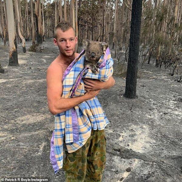 Conheça o herói australiano que salva coalas dos incêndios