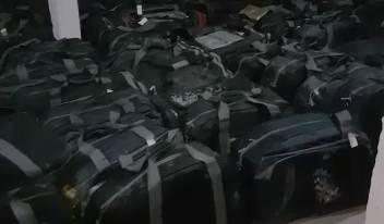 Polícia Militar apreende mais de 3 toneladas de cocaína, em Marina de Guaratuba