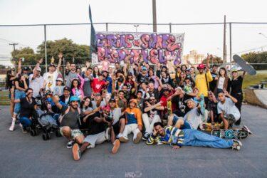 Campeonato de skate feminino domina a Wenceslau Braz