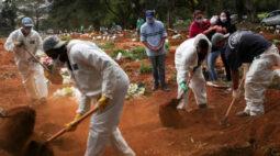 Em 24h, Brasil teve 1.039 mortes causadas pelo novo coronavírus