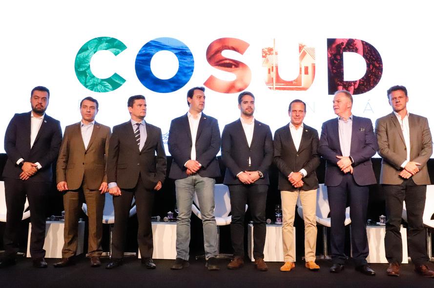 Cosud: governadores do Sul e Sudeste se comprometem com o desenvolvimento sustentável