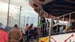Criança recebe alta após acidente em parque de diversões de Curitiba