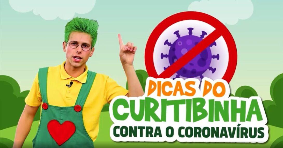 Prefeitura de Curitiba dá vida ao 'Curitibinha' para falar às crianças sobre o novo coronavírus