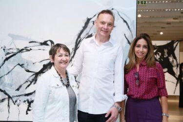 Abertura da exposição de Marcelo Conrado encantou o público no MON!