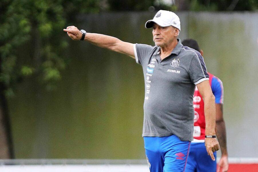 Jesualdo testa mudanças no elenco para enfrentar o Palmeiras