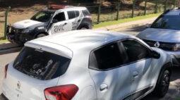 Marginais são presos em flagrante no momento em que tentavam furtar carro em Curitiba