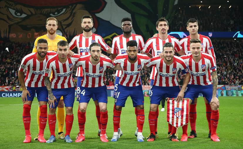 Atlético de Madrid anuncia corte de 70% dos salários de atletas e treinadores
