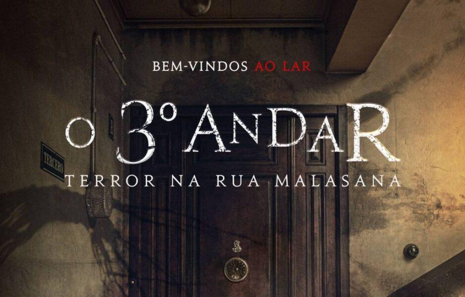 Inspirado em eventos reais, 'O 3º Andar – Terror na Rua Malasana' ganha cartaz oficial