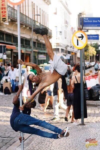 O corpo e a dança da urbanidade