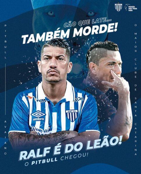 Ex-Corinthians, Ralf é anunciado como novo reforço do Avaí