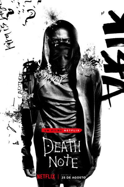Netflix divulga o pôster de 'L' em Death Note