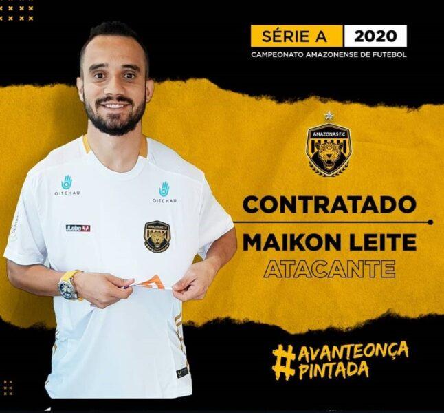 Ex-jogador de Santos e Palmeiras fecha com time do Amazonas