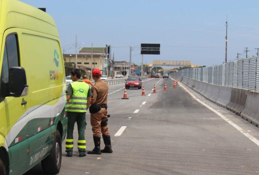 Obras bloquearão faixas da BR-277 nesta quinta-feira (20), em São José dos Pinhais