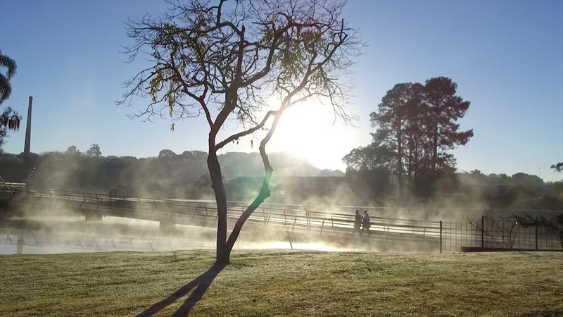 Curitiba registra temperatura mais baixa do mês de fevereiro em 29 anos: 11,2ºC