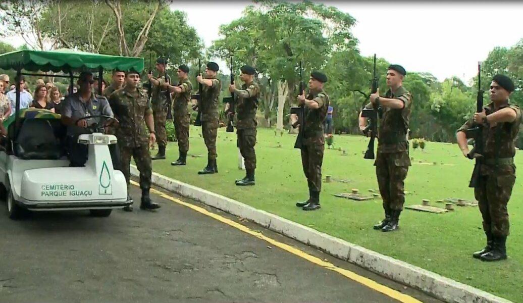 General do Exército, Dirceu Ribas Corrêa é sepultado em Curitiba