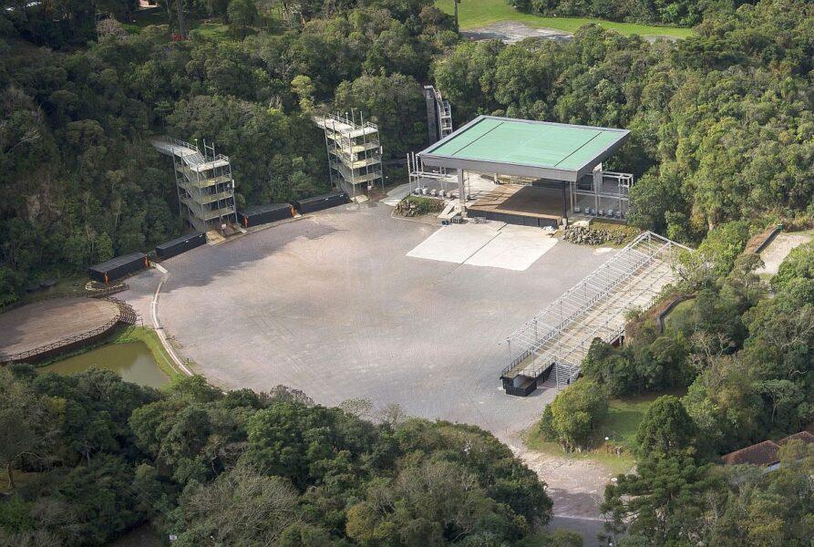 Pedreira Paulo Leminski vai virar arena de entretenimento drive-in