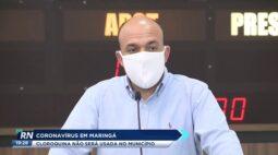 Coronavírus em Maringá: cloroquina não será usada no município