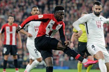 Athletic Bilbao vence o Granada e sai na frente por vaga na final da Copa do Rei