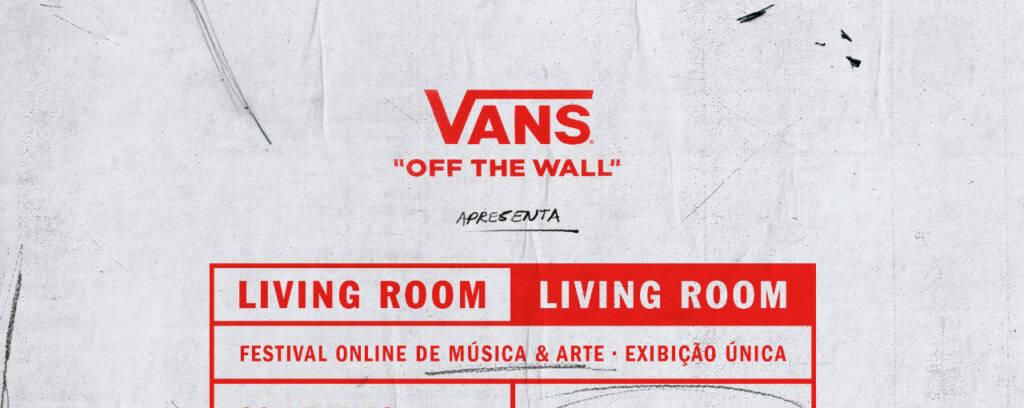 """Vans anuncia festival online """"Vans Living Room"""" com Fresno, Strike, Gloria e mais"""