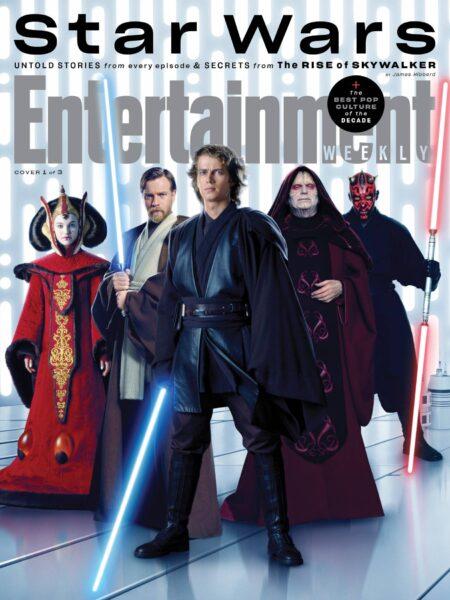 'Star Wars:A Ascensão Skywalker' ganha imagens pela revista EW