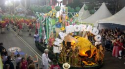 Enamorados do Samba vence o carnaval de Curitiba