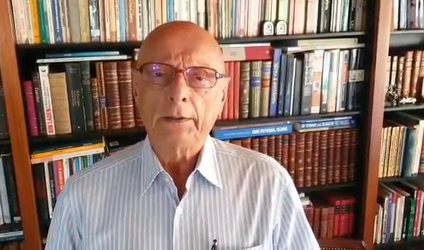 """""""Que Deus lhe dê o repouso do guerreiro"""", diz o senador Esperidião Amin sobre a morte de Mário Petrelli"""