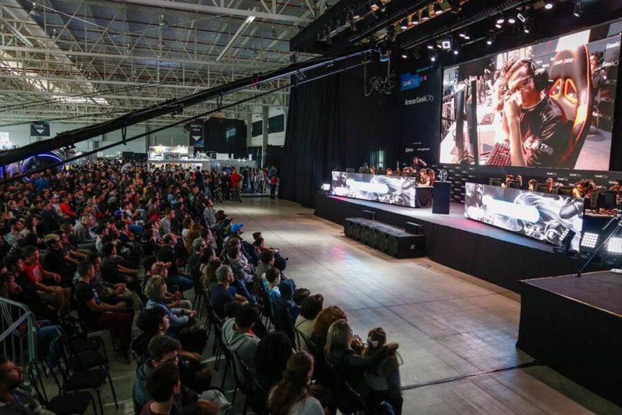 Geek City 2019 traz a maior arena gamer do Sul do Brasil com dois torneios profissionais de E-Sports