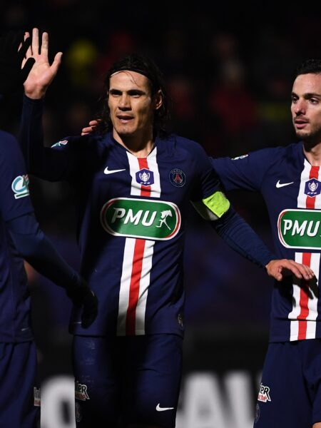 Veja fotos da goleada do PSG diante do Linas-Montlhéry