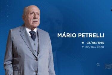 Homenagem especial Mário Petrelli: morte é lamentada por Jornalista