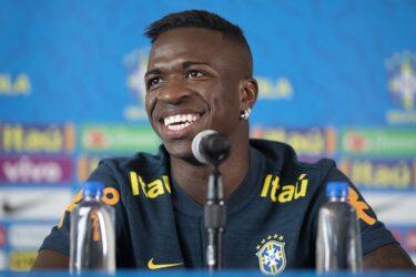 Antes de estrear na seleção principal, Vinicius Junior festeja 'sonho realizado'