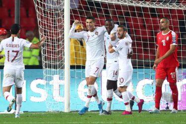 Cristiano marca, Portugal bate Sérvia e desencanta nas Eliminatórias
