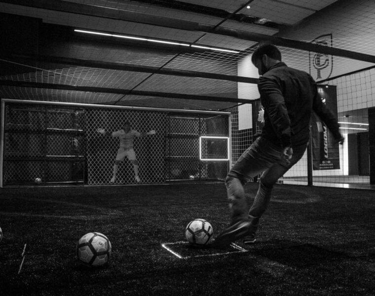 """Corinthians inaugura """"Desafio do Gigante"""" inspirado em Cássio na Arena"""