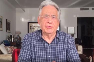 """""""Sempre disposto a ajudar o Brasil"""", diz Fernando Henrique Cardoso sobre Mário Petrelli"""