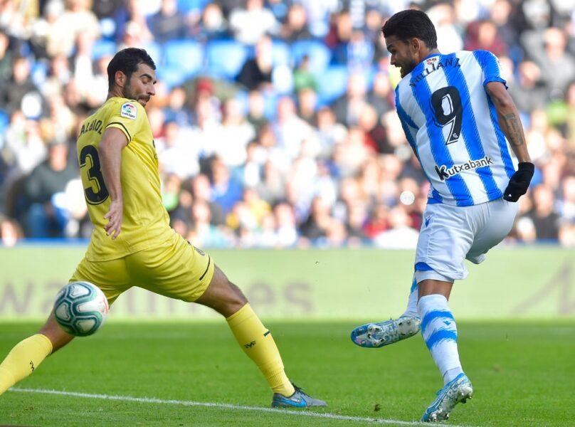 Willian José marca, mas Real Sociedad perde para o Villarreal