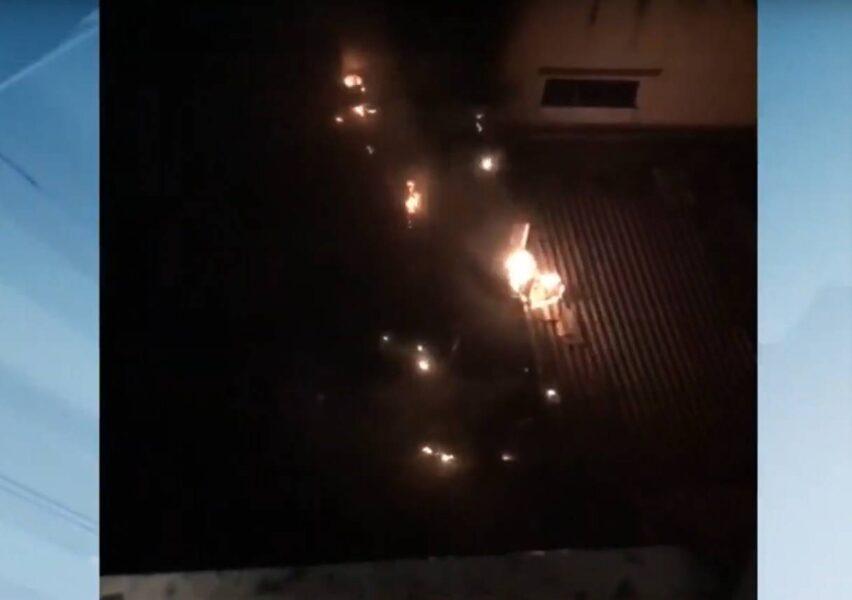 Farmácia de manipulação em Maringá é tomada por incêndio