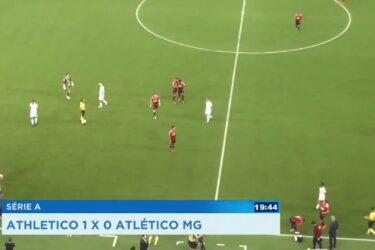 Série A: Athletico 1 X 0 Atlético MG