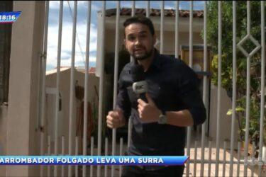 Bandido invade e toma banho em casa de Maringá