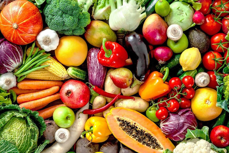 Frutas e legumes em alta na primavera