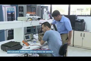 Centro universitário conserta eletrodomésticos de graça