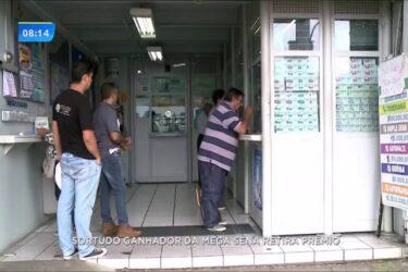 Sortudo: ganhador da Mega Sena retira prêmio