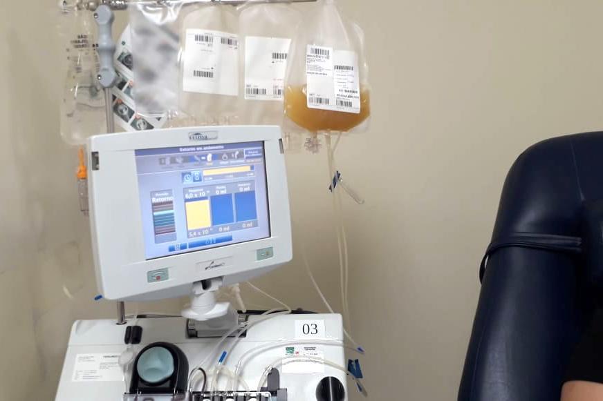 Hemepar começa a usar plasma para tratar infectados por coronavírus