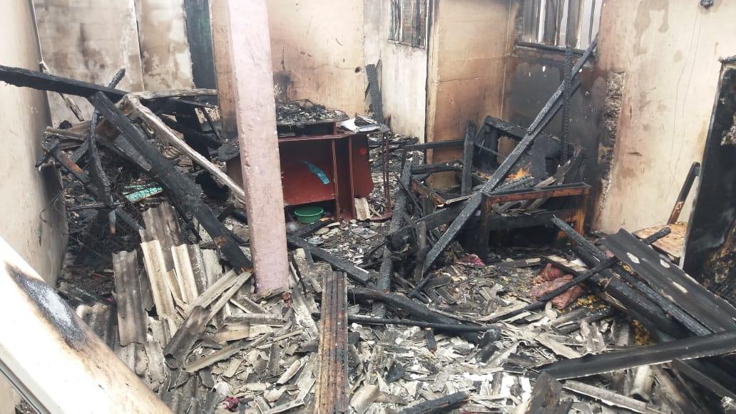 Inconformado com separação, homem coloca fogo na casa da ex-mulher