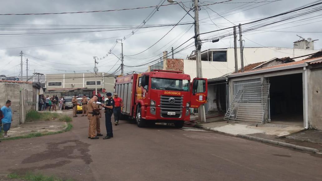 Homem morre queimado ao tentar colocar fogo na ex em Curitiba